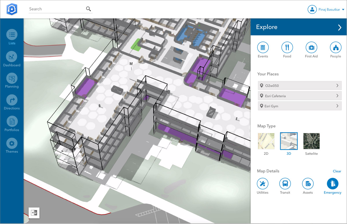 Esri announces it will release new indoor mapping product, ArcGIS Indoors.