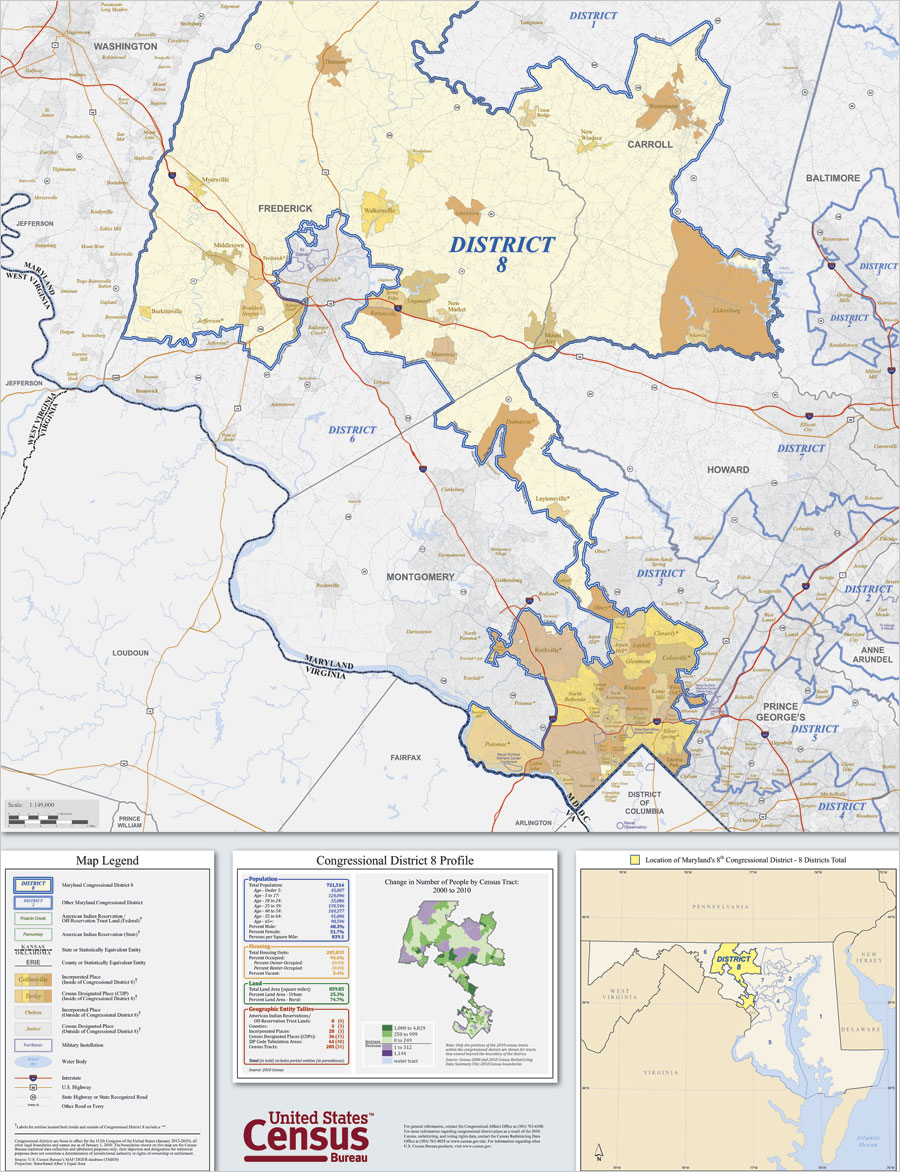 The US Census Bureau's increased use of GIS will help states redistrict their jurisdictions quickly.