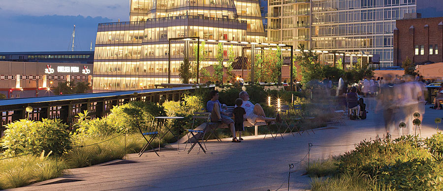 Biophilic cities recognize that urban areas could support even more nature, as the High Line in New York City does.
