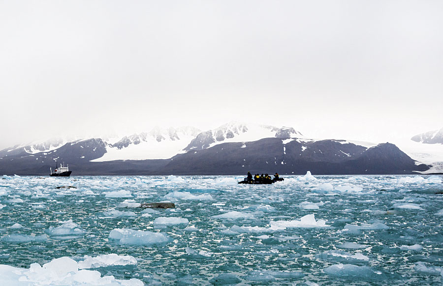 The Arctic offers increasing opportunities for business ventures in oil, gas, and shipping, but the area, which has a unique ecosystem, is subject to harsh and unpredictable weather.