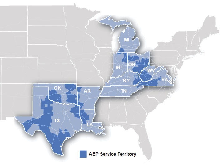 With a 200,000-square-mile service territory and the largest electricity transmission network in the United States, American Electric Power is uniquely positioned to support business development.