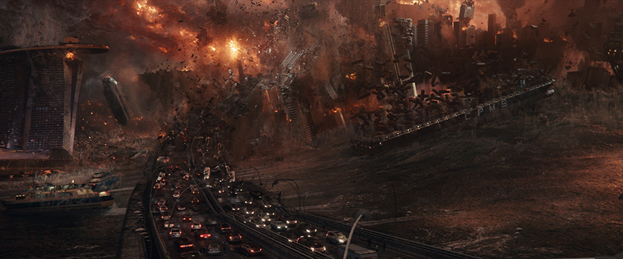 How Hollywood Builds and Destroys Cities with 3D GIS
