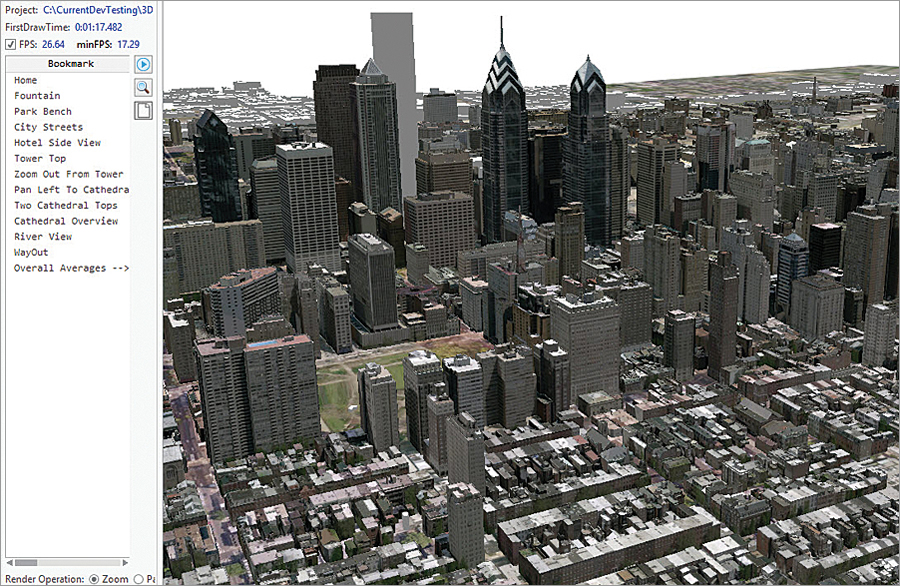 Esri has tested ArcGIS Pro in all major virtual desktop infrastructure (VDI) platforms. The user experience is fine without a graphics processing unit (GPU) when using basic 2D data, though a GPU is needed when using complex 2D data and any 3D data.