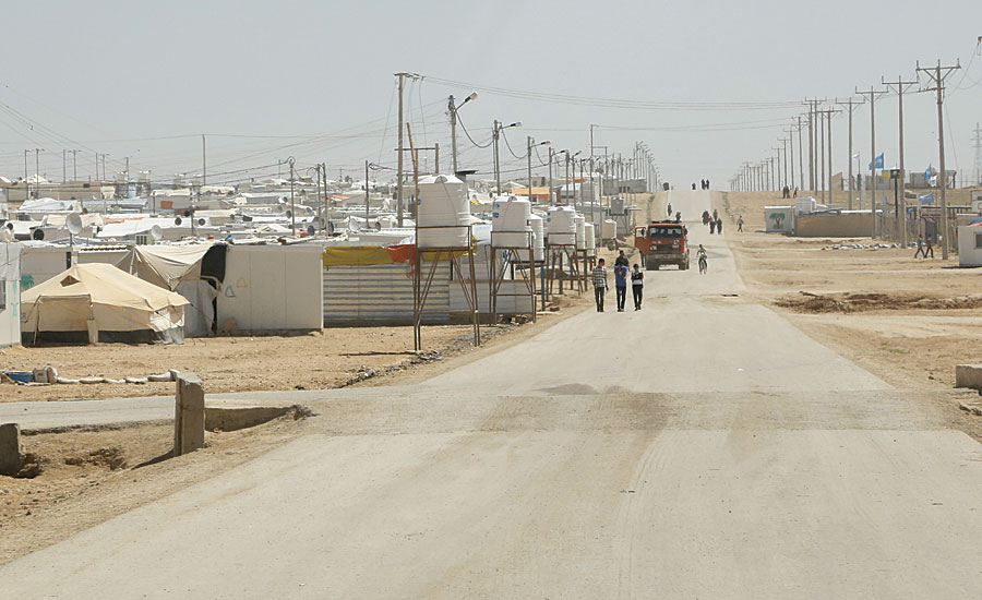 As of September 2015, more than 620,000 Syrian refugees had fled to Jordan—to refugee camps such as Zaatari, pictured here—since the Syrian civil war began.