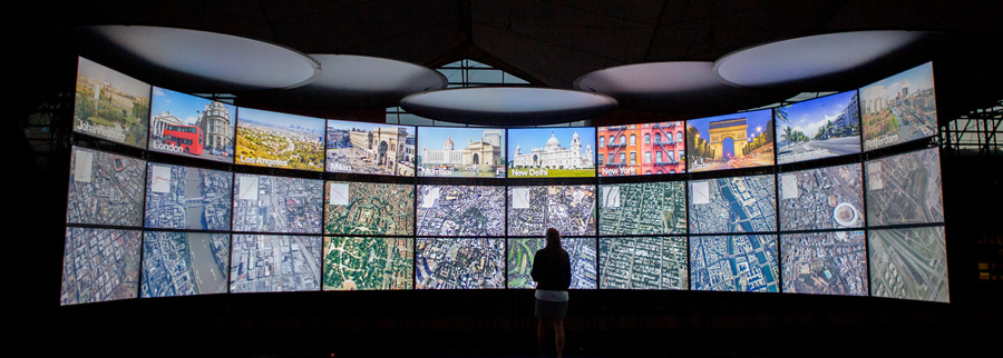 First look: The Urban Observatory was unveiled at the 2013 Esri International User Conference.