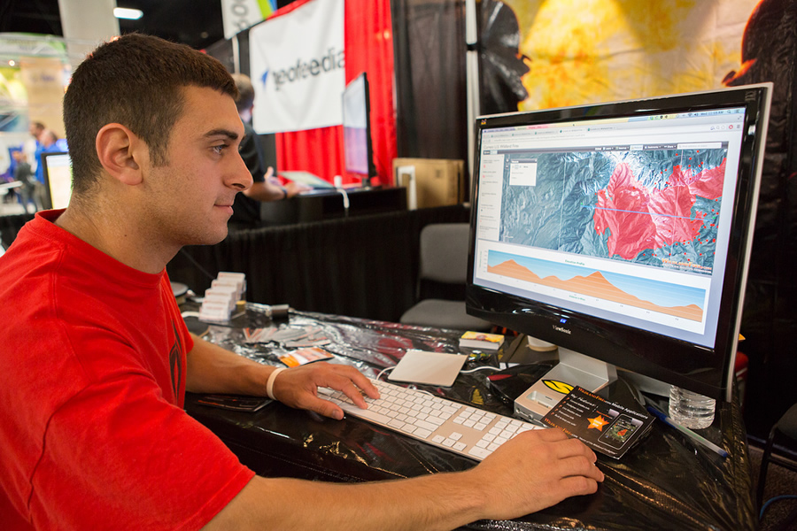 Many interesting and useful geospatial technology applications will be demonstrated at the Esri UC.