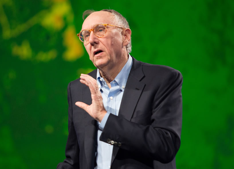 Esri president Jack Dangermond announced Esri's support for the Climate Data Initiative.