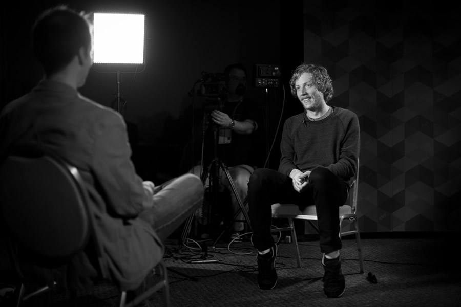 The CEO and co-founder of GitHub sits down for an interview at the Esri International Developer Summit, where he was the keynote speaker.