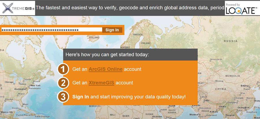 Correct and validate address data.