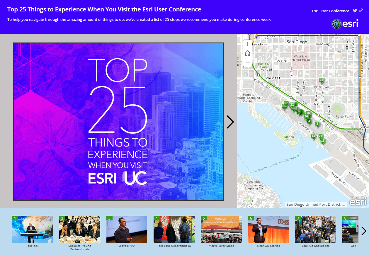 What to do? Where to go? You will be faced with many choices everywhere you turn at the Esri User Conference.