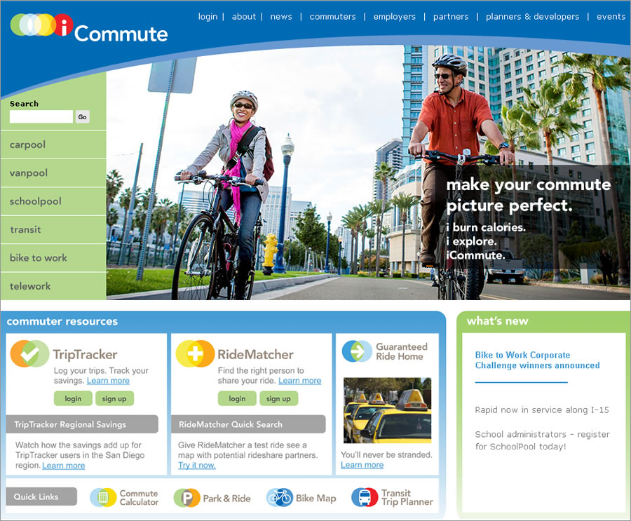 You can find the San Diego Regional Bike Map at the iCommute website.