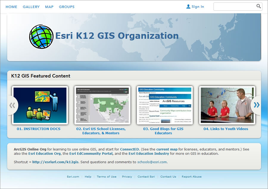 For decades, the rap against GIS in schools has been that the hardware required is scarce, the system complex, the procedures arcane, and the activities contrived. No matter that students have made magic happen with maps—solving complex, real-world problems just like adults when given the chance. In those instances, learners, teachers, environments—or all three— were consistently deemed exceptional. At long last, the tide of technology is overcoming obstacles. ArcGIS Online requires no special hardware or software. ArcGIS Online subscriptions provide secure logins plus special powers like analysis and publishing