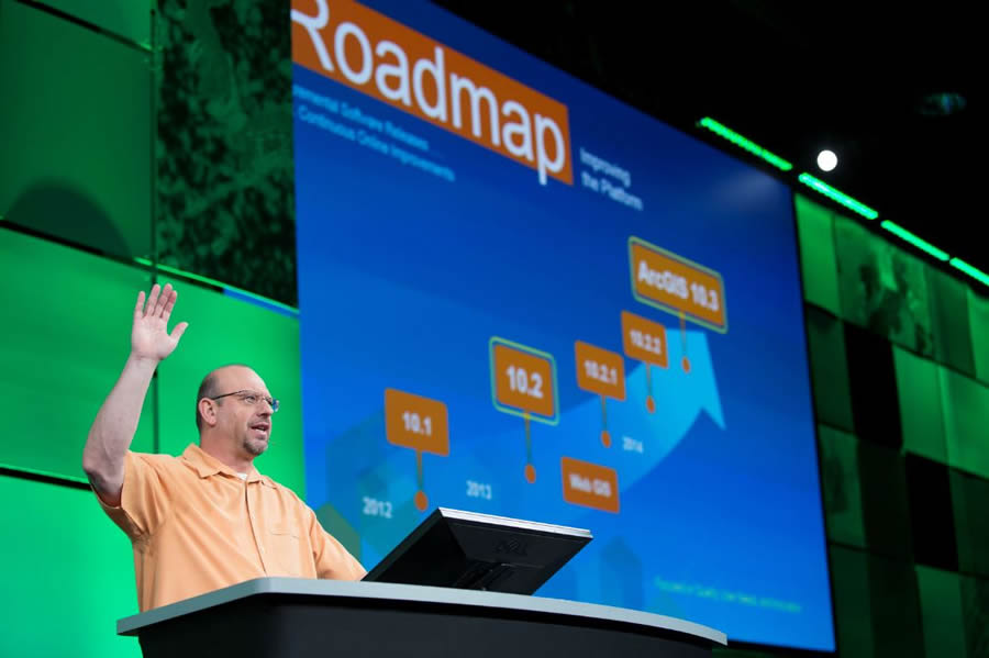 Developers will hear about future plans for the ArcGIS platform.