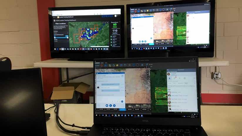command center screens