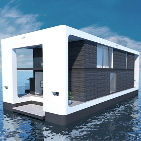 Marketing floating homes to luxury buyers