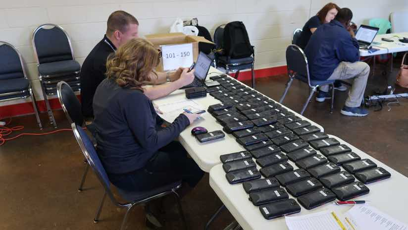 provisioning cell phones from FirstNet