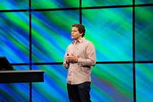 David Cardella spoke about a new ArcGIS subscription for developers that is in the works