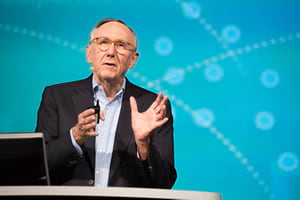 Dangermond says GIS and geoanalytics will support many applications for IoT