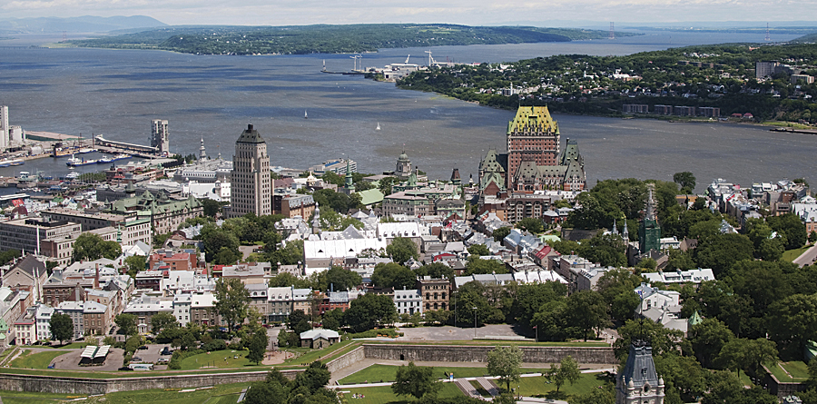 The City of Québec.