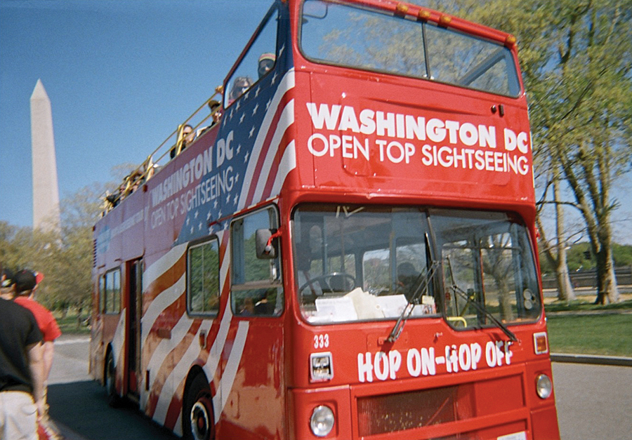 In 2010, the National Park Service reported more than 21 million visits annually to the DC parklands, with as many as one-third of visitors arriving via tour buses.