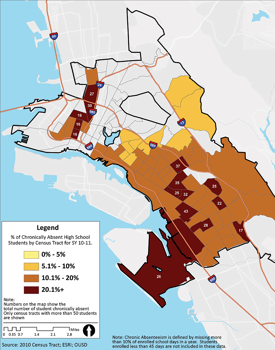 Oakland Unified School District Uses GIS to Further Academic