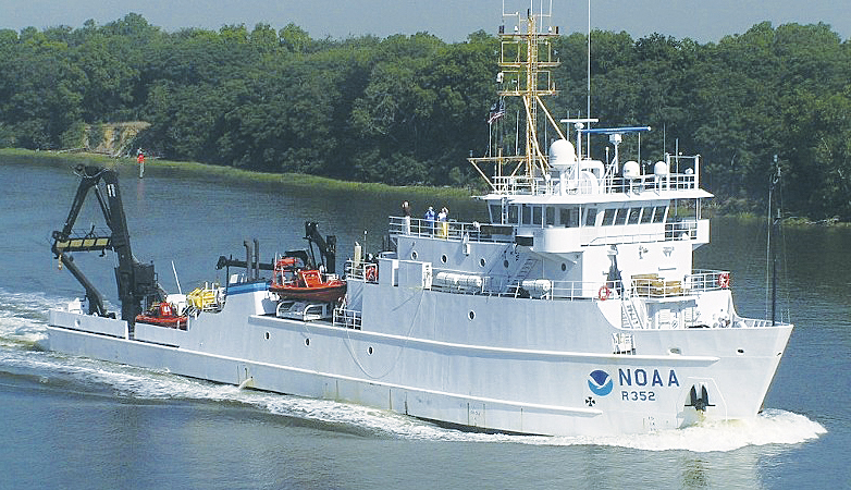 The Nancy Foster is one of the most operationally diverse platforms in the NOAA fleet.
