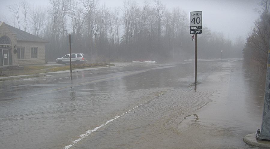 With four major creek systems that run southward through Cobourg to Lake Ontario, the town is especially vulnerable to flooding and has experienced several major floods over the past few years.