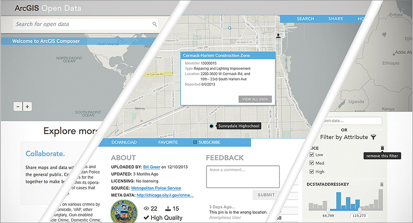 Build a custom branded website to support open data initiatives.