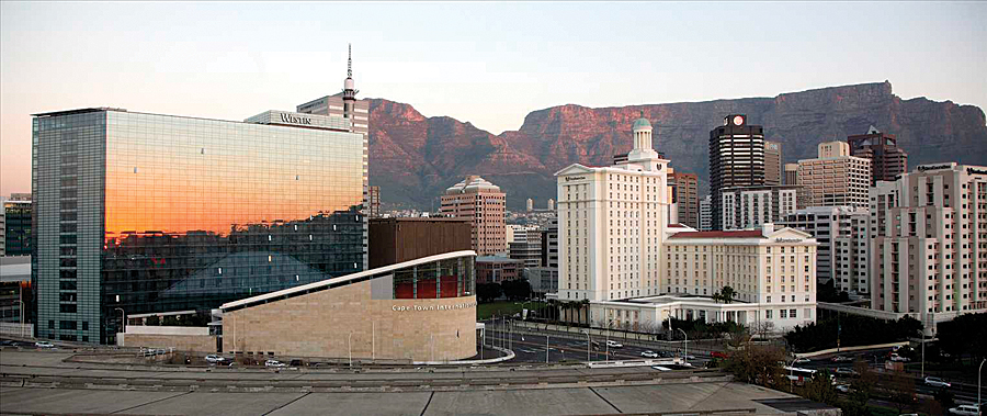 Cape Town International Convention Centre.