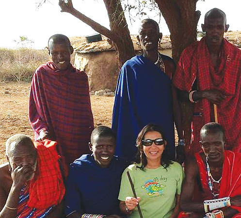 Nadika Senadheera (see the GIS Hero article in the Fall 2013 ArcNews) helped orchestrate a GIS Day 2013 celebration at Mayo Primary School in Juba, South Sudan. She also visited Amboseli National Park in Kenya, where she provided a teaching session for the Maasai community.