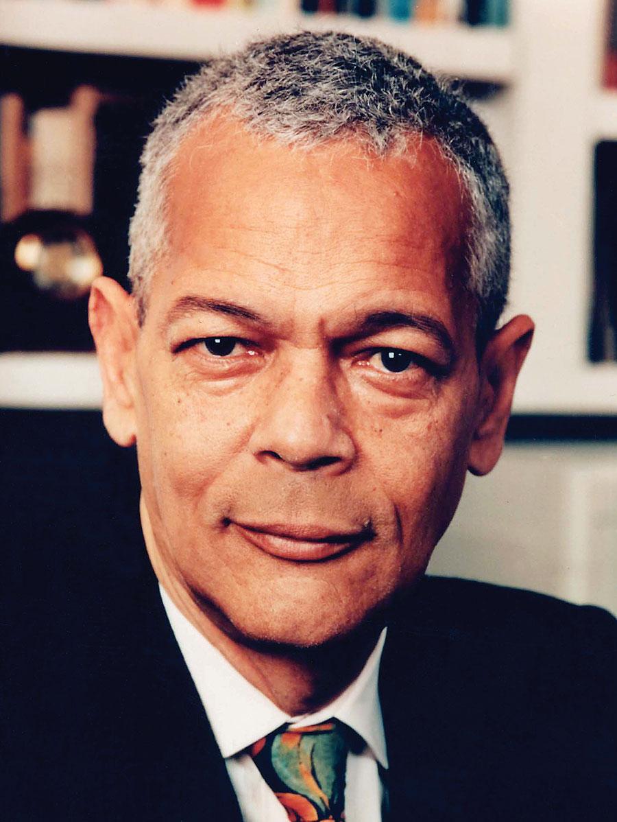 Civil rights pioneer Julian Bond.