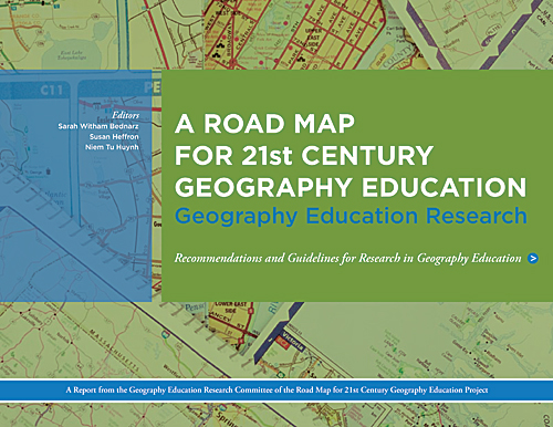 A road map, which lays out a path to the effective implementation of the learning objectives detailed in Geography for Life, was released in the form of three topically focused reports.