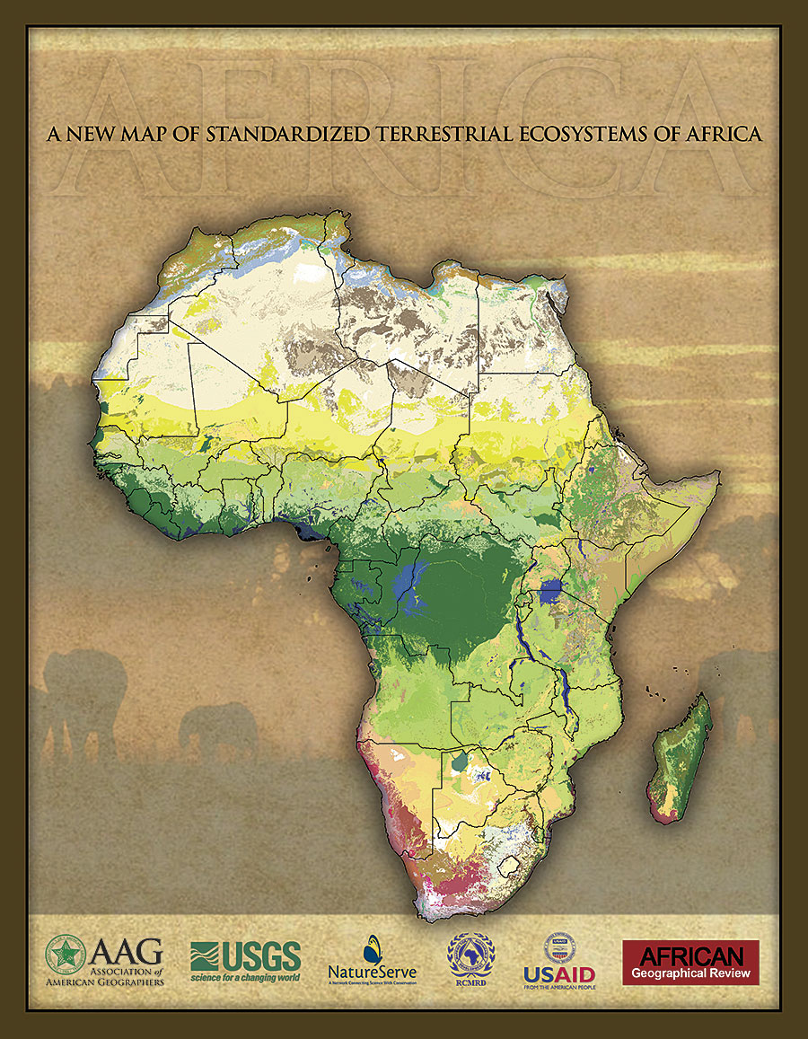 Stunning New African Ecosystem Maps