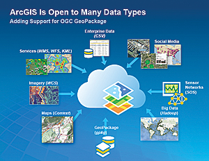 Esri Leads in Supporting OGC Standards
