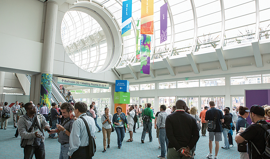 GIS professionals from around the world come to the Esri International User Conference.