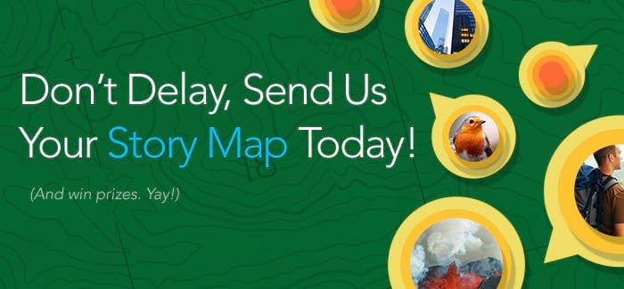 Send your story map today