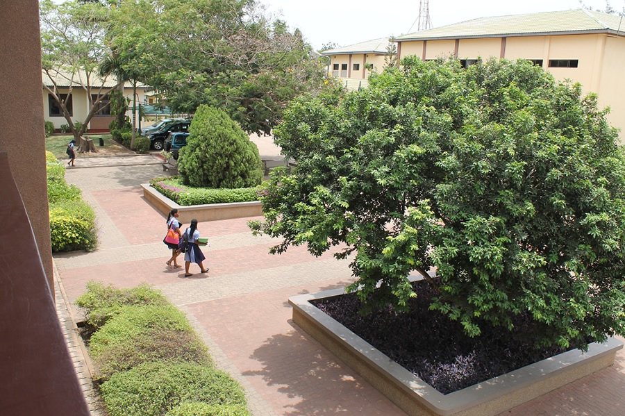 Students from many African nations attend the SOS-Hermann Gmeiner International College.
