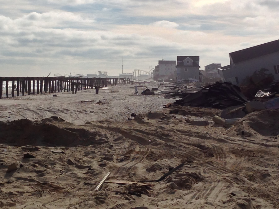 Superstorm Sandy caused billions of dollars in damage in New Jersey. Toms River Township was hard hit. Photo courtesy of Toms River MUA.