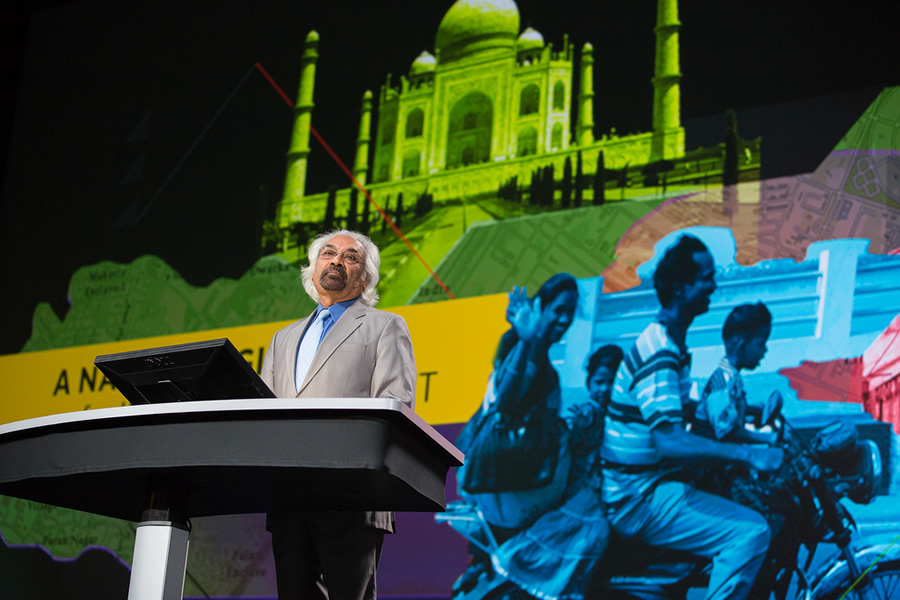 Sam Pitroda believes GIS will be critical to turning India into an information-rich society.