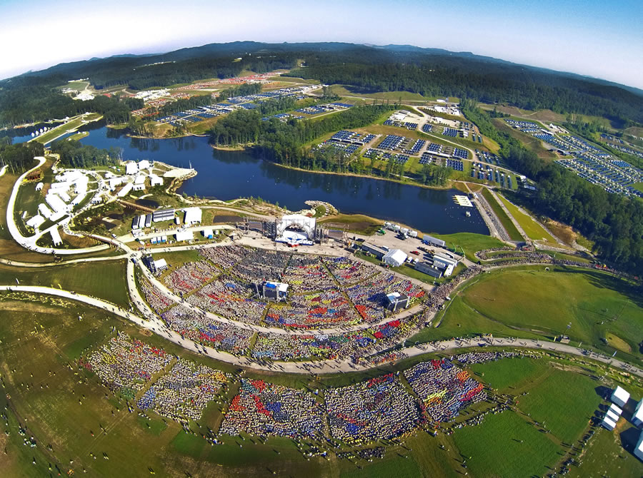 Bechtel Summit Reserve hosted more than 25,000 Scouts for the National Scout Jamboree. © 2013 Boy Scouts of America