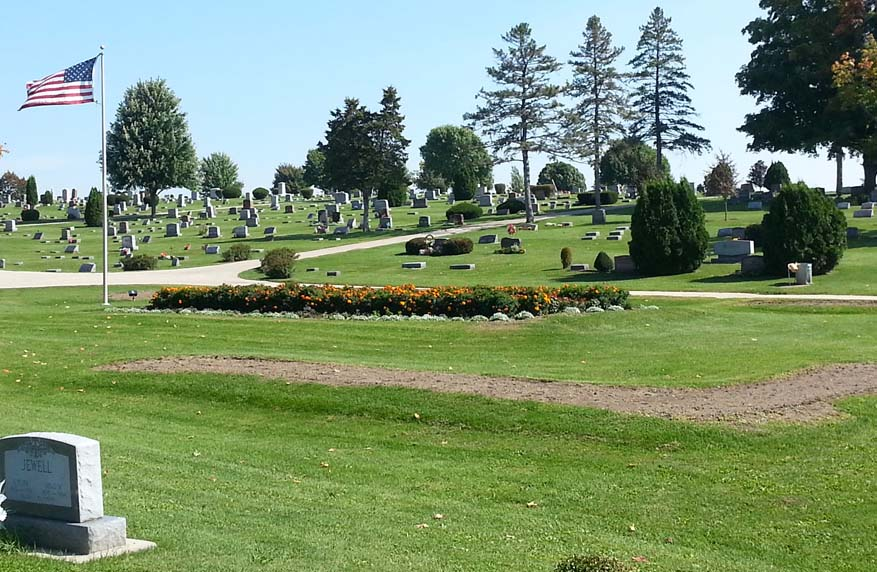 There were no records of people who were buried in the Potter's Field section of the cemetery, where the indigent and unknown were laid to rest. The area, however, will be identified on the map. Photo by Troy Maggied.