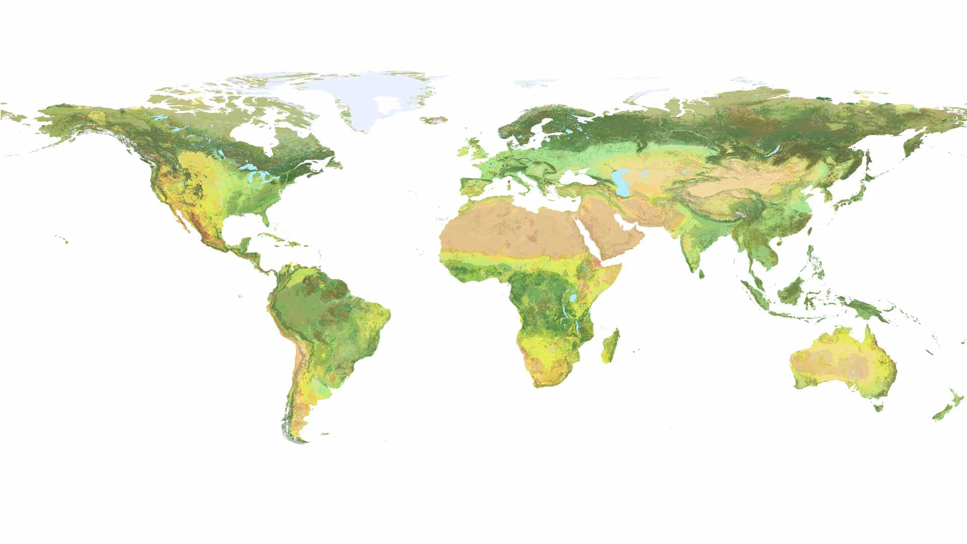 Picture of: Mapping The World S Ecosystems