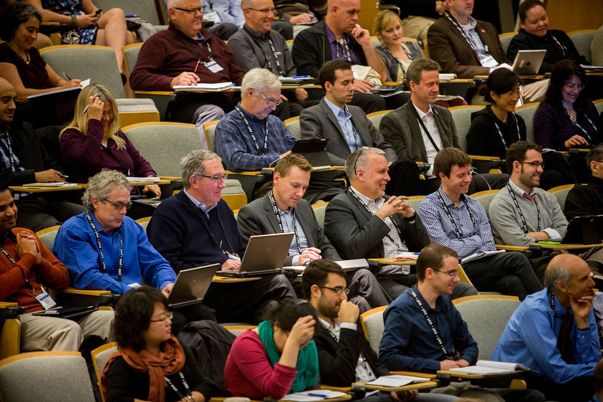 The Geodesign Summit inspires and educates people from many professions.