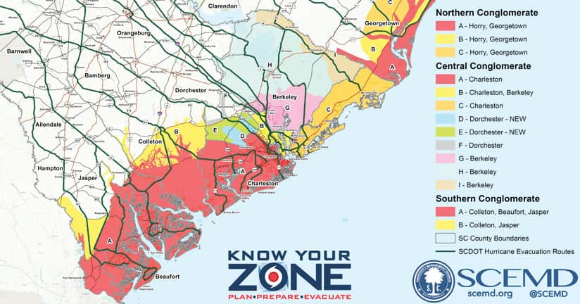 Know Your Zone map