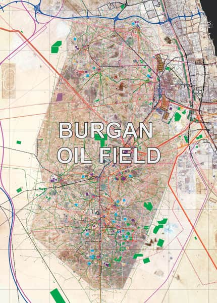 Burgan oil field