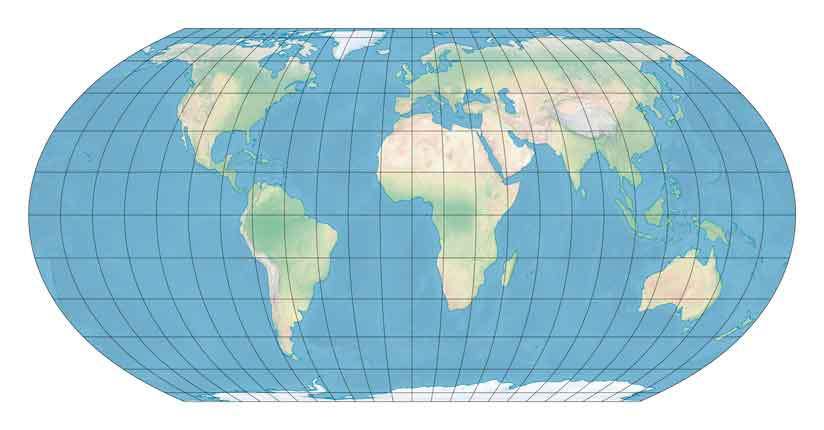 I Need A Map Of The World.New Map Projection Meets Cartographic Needs And Desires