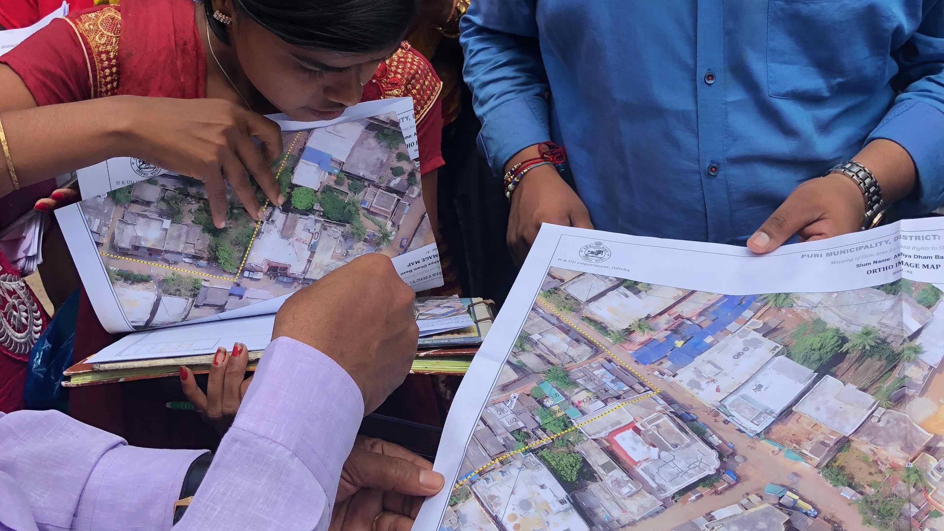 paper maps shared among neighbors