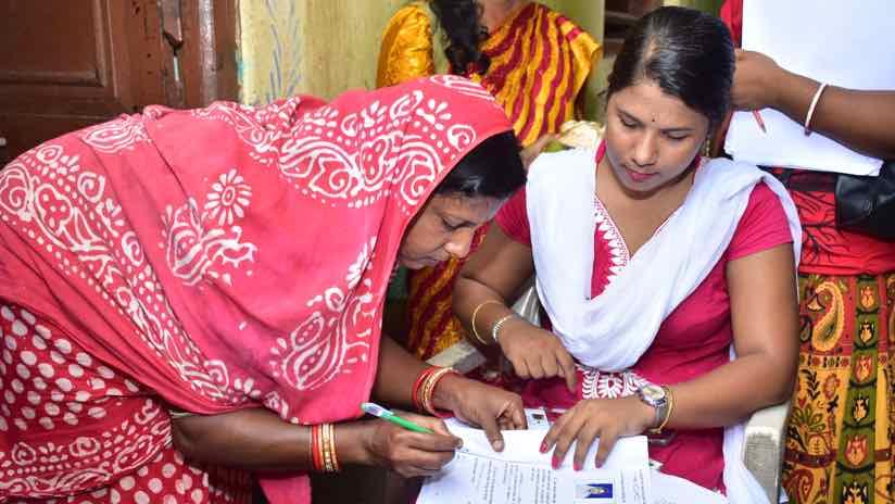 signing land record