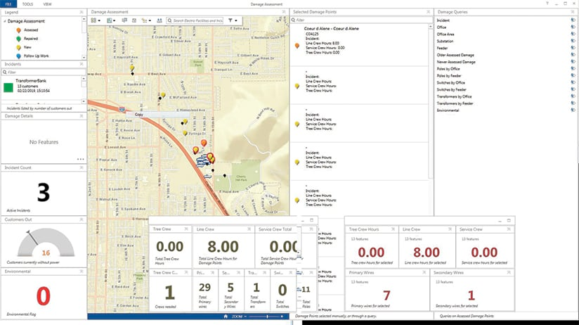 Operations Dashboard for ArcGIS