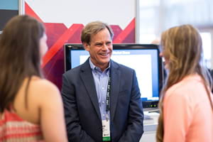 Businessman David Hicks attended the Esri Business Summit in 2015